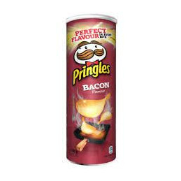 PRINGLES BACON 165gr